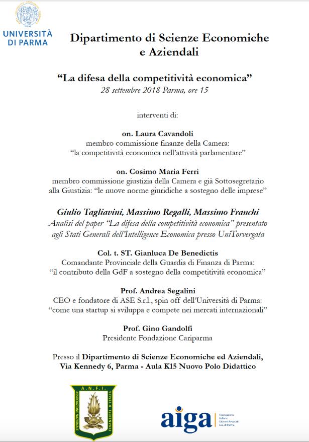 La difesa della competitività economica